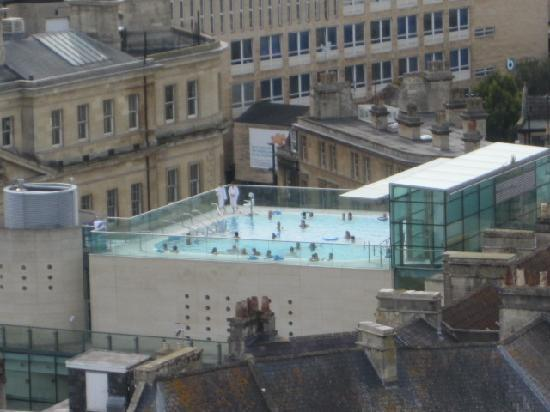 Thermae Bath Spa: Rooftop Swimming Pool