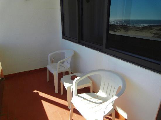 Hotel Santo Andre: The balcony