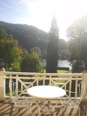 Hotel Villa Gracia : terrazza della camera al 1 piano