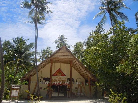 Alimathaa Island: Centro Massaggi
