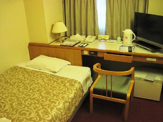 Koraku Garden Hotel: シングルルーム(喫煙)