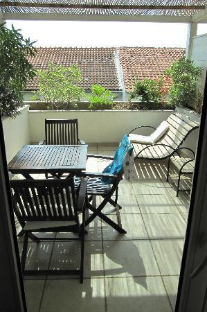 Zlatni Bol Apartments : Terrace