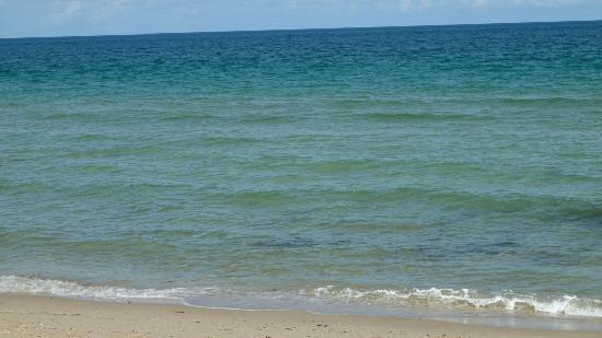 Napoli Belmar Resort: the very calm beach