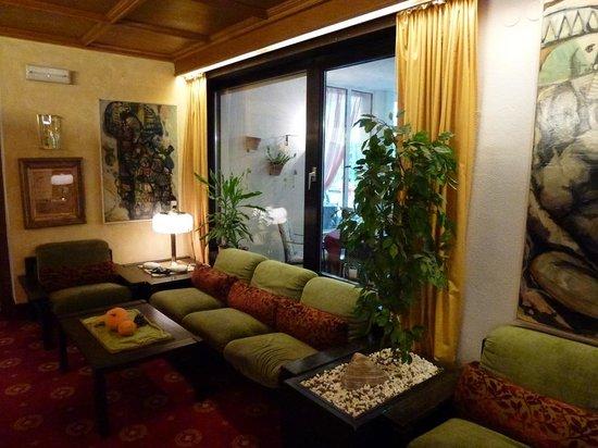 Hotel Gartenresidence Zea Curtis: Lounge