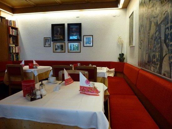 Hotel Gartenresidence Zea Curtis: Breakfast Room