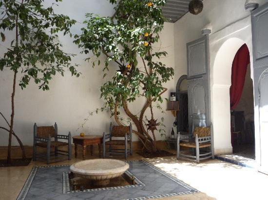 Dar Touyir: Riad, rez-de-chaussée