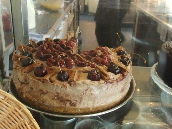 Graveleys: Delicious Chocolate/Cherry cake , dessert anyone??