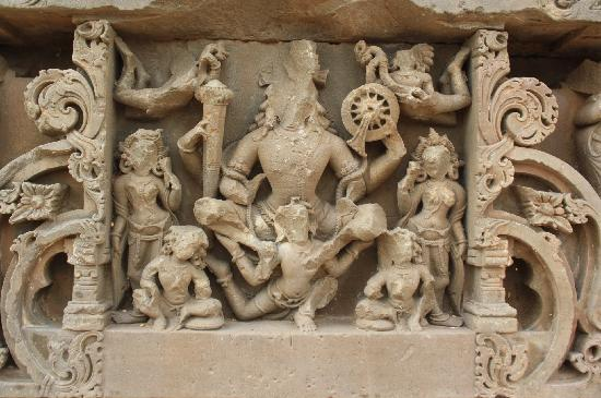Chand Baori: Harshat Mata Temple- beautiful figurines reminds of ancient indian architecture