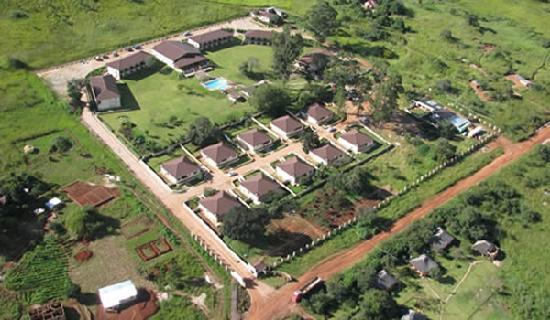 Solwezi, Zambia: Aerial View
