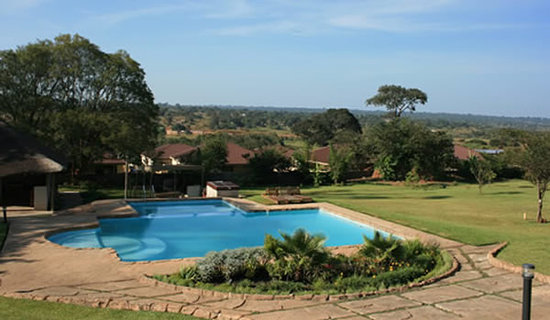Solwezi, Zambiya: The view from the Deck
