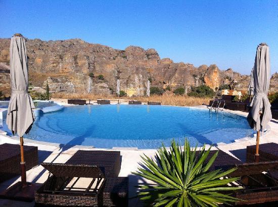 Isalo Rock Lodge: Pool