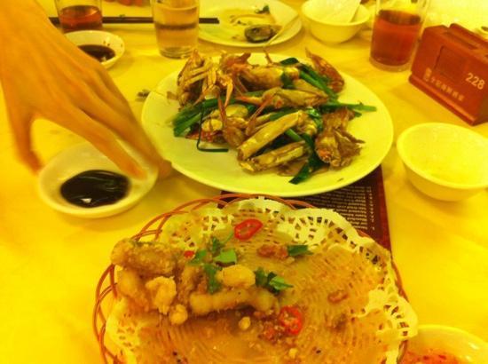 เชอราตัน ฮ่องกง โฮเต็ล แอนด์ ทาวเวอร์: stir fried crab