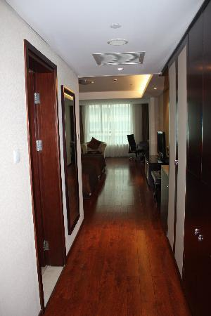 Huabin International Hotel: view from door