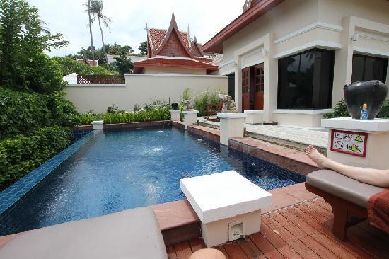 Q Signature Samui Beach Resort : Private Pool