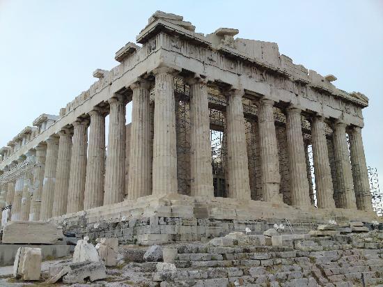 อะโครโปลิส: the main temple
