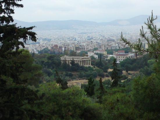 อะโครโปลิส: temple of zeus
