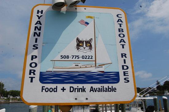 Catboat Rides: Cat Boat Sign