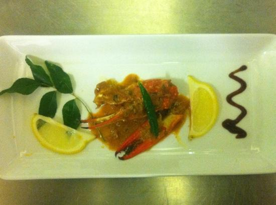 backwaters crab curry