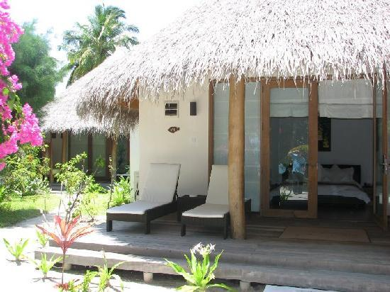 Kuramathi Island Resort: Our villa 131