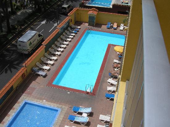 Palmeras Playa: piscina