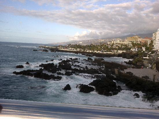 Palmeras Playa: piscinas mar salada