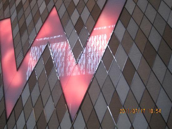 ดับเบิ้ลยู ฮ่องกง: Wのトレードマークです。