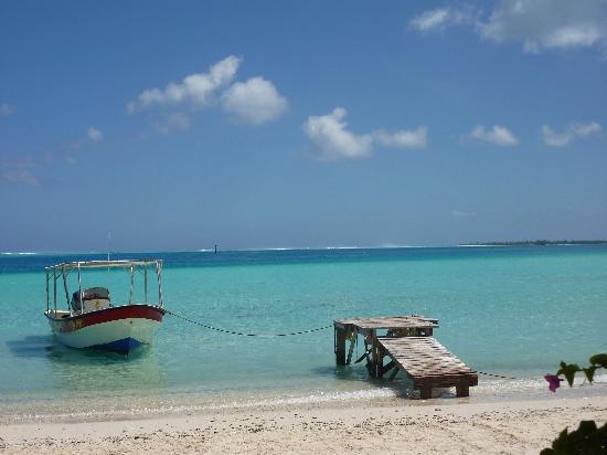 Pension Papahani: La plage