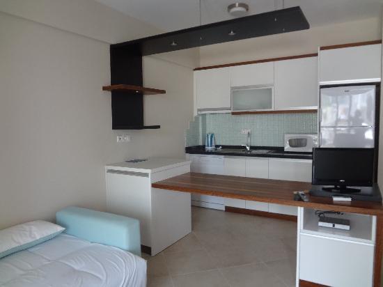 Captain Suites Hotel: Zona giorno