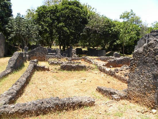 Jumba la Mtwana: ruins