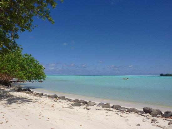 Maupiti Island, French Polynesia: Plage