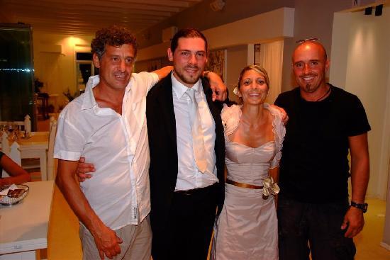 Piombino, İtalya: Nous et les propriétaires