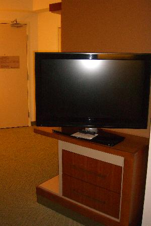 SpringHill Suites Salt Lake City Airport : tv