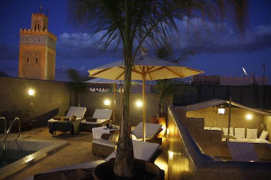 Riad Awa: les terrasses