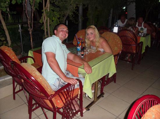 Umut Pide: in the restaurant