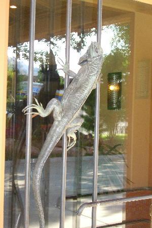 ذا جونزو إن: Door to lobby