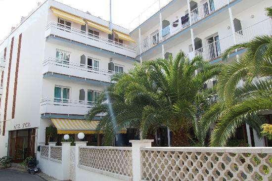 Hotel Simeon: Cortile