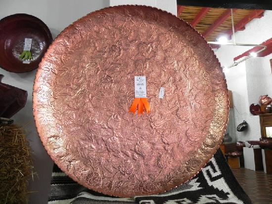 Museo del Cobre: Copper Tray Entry