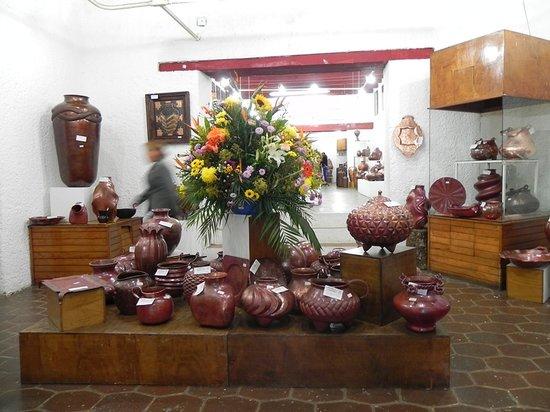 Museo del Cobre: Museo Interior