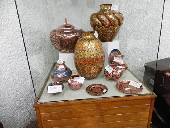 Museo del Cobre: Copper with Enamel