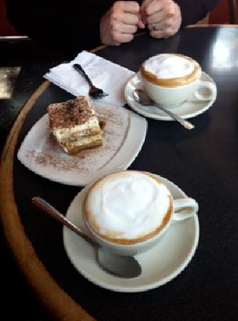Mario's Bohemian Cigar Store and Cafe: Tiramisu!