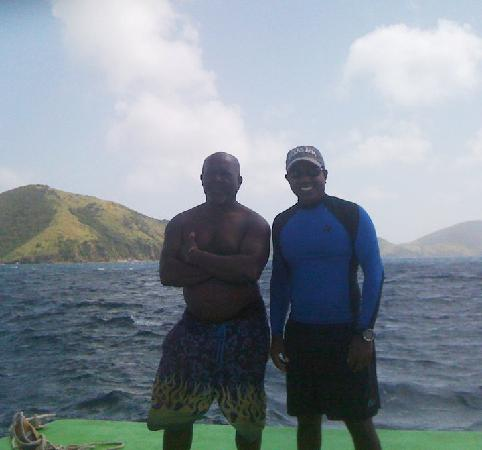 Basseterre, Saint Kitts: Kenneth & Vajai