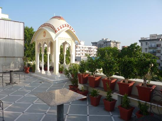 Krishna Palace: View of Rooftop