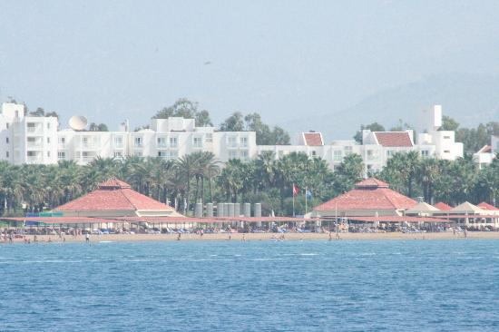 Otium Hotel Seven Seas: hotel view from sea