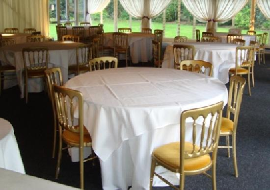 Boxmoor Lodge Hotel: The marquee