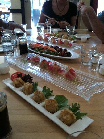 Local Table Tours: Sharing food at Sushi Tora
