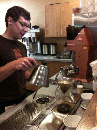Local Table Tours: Learning about the art of the perfect cup at OZO