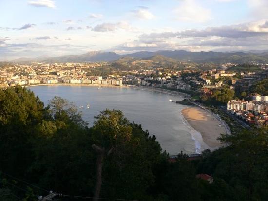 La Concha Beach: Vistas desde Monte Igueldo