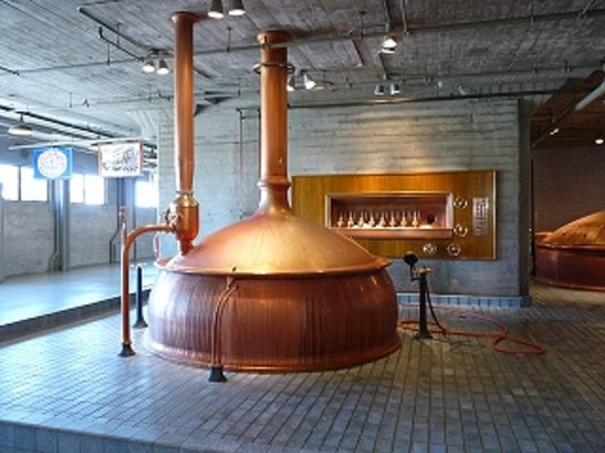 Anchor Brewing Company : 銅製の釜