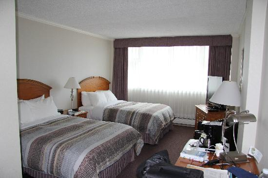 Chateau Victoria Hotel and Suites: unser Zimmer