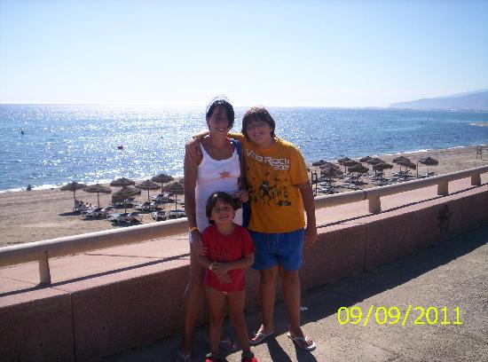 Cabogata Mar Garden Hotel Club & Spa: En la playa